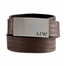 Armani Jeans - Logo Plaque Belt