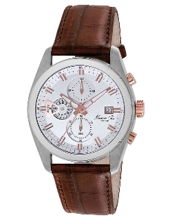 Kenneth Cole - Stainless Steel Chronograph Watch