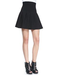 Alice + Olivia  - Jersey High-Waist Fit-&-Flared
