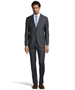 Armani - Pin Stripe Virgin Wool 2-Button