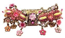 Orly Zeelon  - Beige Crystal Bracelet