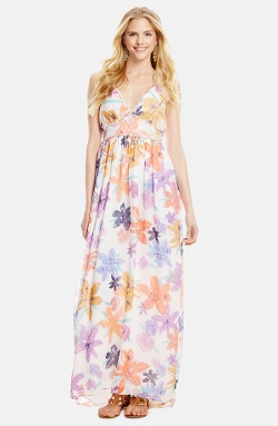 Jessica Simpson - Roslyn Halter Maxi Dress