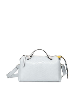 Fendi - By The Way Small Python Satchel Bag