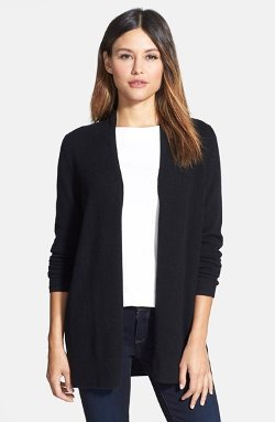 Nordstrom Collection  - Open Front Cashmere Cardigan