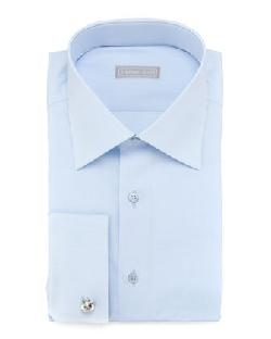 Stefano Ricci - Basic French-Cuff Dress Shirt, Blue