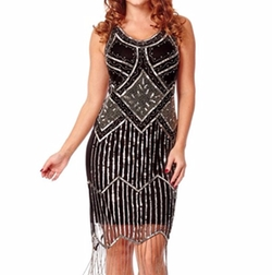 Gatsbylady London - Inspired Fringe Dress