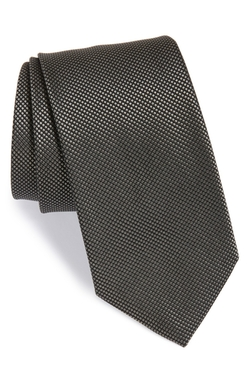 Boss - Check Silk Tie