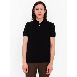 American Apparel - Piece-Dye Pique Polo Shirt