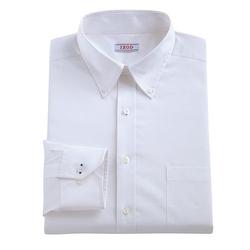 Izod - Classic-Fit Solid Stretch Poplin Dress Shirt