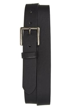 Topman  - Faux Leather Skinny Belt