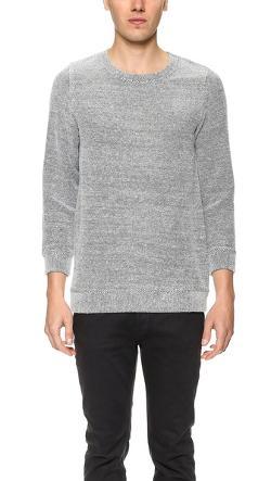 A.P.C.  - Basic Tweed Sweater