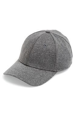 Gents  - Heathered Jersey Baseball Cap
