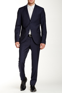Tiger of Sweden -  Peak Lapel Wool Suit