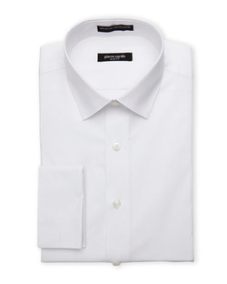 Van Heusen - Lux Sateen Wrinkle-Free French Cuff Dress Shirt