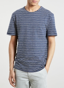 Topman - Old School Stripe T-Shirt