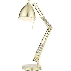 CB2 - Carpenter Brass Table Lamp