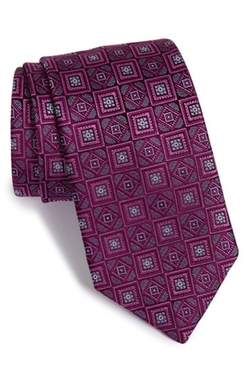 David Donahue - Medallion Silk Tie