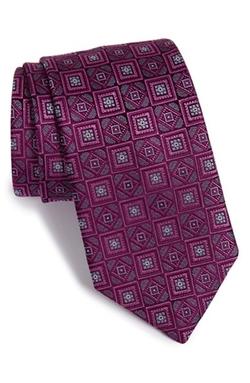 David Donahue - Medallion Silk Tie