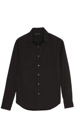 Theory  - Slyvain Solid Dress Shirt