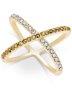 INC International Concepts  - Crystal X Ring