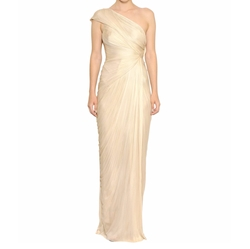 Maria Lucia Hohan - Darlinda Pleated Silk Tulle Gown