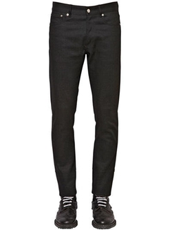 Givenchy   - Slim Fit Cotton Denim Jeans