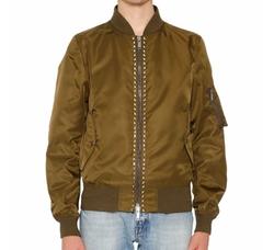 Valentino  - Rockstud Bomber Jacket