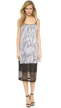 Helmut Lang - Matic Print Dress