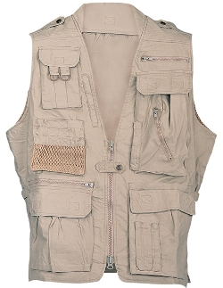 CampCo - HumveeCotton Safari Vest