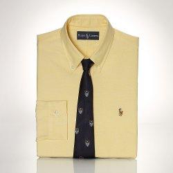 Ralph Lauren - Custom-Fit Luxury Oxford Shirt