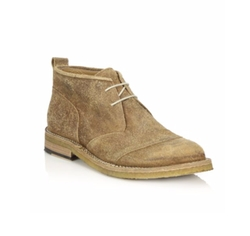 Belstaff  - Warren Burnished Suede Chukka Boots