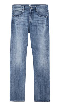 7 For All Mankind  - Carsen Straight Fit Jeans
