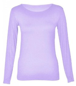Funky Boutique - Long Sleeve Scoop Neck Top