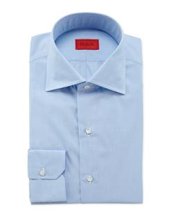 Isaia  - End-on-End Woven Dress Shirt