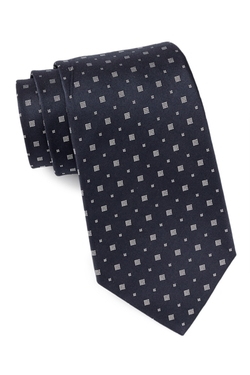 Star USA By John Varvatos  - Silk Dotted Square Neat Tie