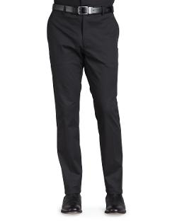 Ralph Lauren Black Label - Stretch-Twill Trousers, Black