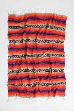 Urban Outfitters - Woven Stripe Beach Blanket