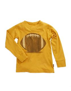 Charlie Rocket - Boys 2-7 Long Sleeved Football Shirt