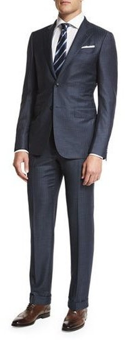 Ermenegildo Zegna - Trofeo Tic Stripe Two-Piece Suit