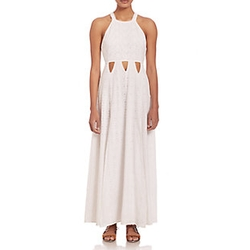 Tularosa  - Crochet Cutout Maxi Dress