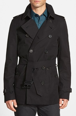 Burberry London - Short Double Breasted Trench Coat
