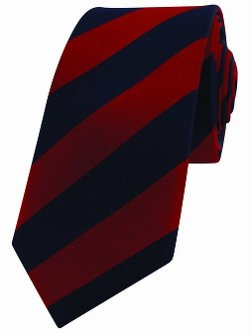 David Van Hagen   - Skinny Striped Tie