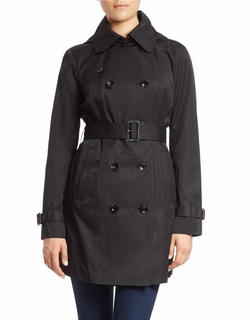Michael Michael Kors - Double-Breasted Trench Coat