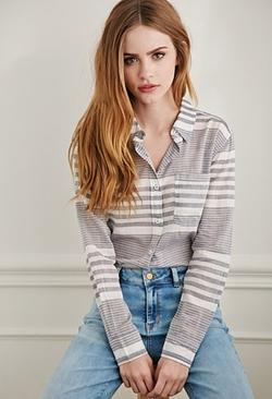 Forever21 - Gradated Stripe Shirt
