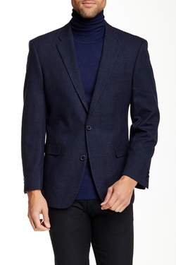 Tommy Hilfiger  - Ethan Two Button Notch Lapel Grid Sportcoat
