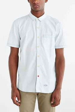 CPO - Hollis Washed Short-Sleeve Button-Down Shirt
