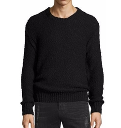 Iro - Lukie Textured-Knit Crewneck Sweater
