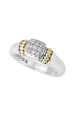 Lagos - Caviar Diamond Ring