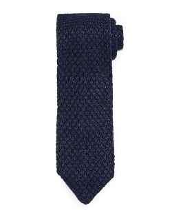 Tom Ford  - Diamond-Pattern Knit Tie