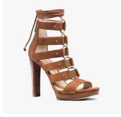 Michael Michael Kors - Sofia Suede Platform Sandals